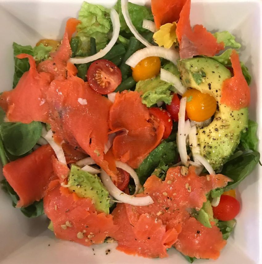 A Smoked Salmon Salad to Scream For